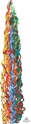Picture of Twirlz Tissue Balloon Tail 34'' - Primary (1 pc)