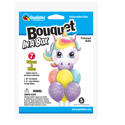 Picture of Bouquet in a Box - Birthday Unicorn  (7pc)