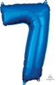 Picture of 26'' Mid-Size Shape Number 7 - Blue (1pc)