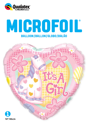 Picture of 18'' It's A Girl Soft Pony Balloon (1pc)
