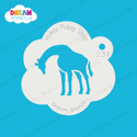 Picture of Giraffe - Dream Stencil - 231