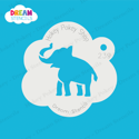 Picture of Elephant  - Dream Stencil - 239