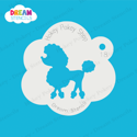 Picture of Poodle - Dream Stencil - 18