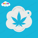 Picture of Marijuana Leaf - Dream Stencil - 24