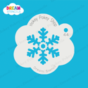 Picture of Festive Snowflake - Dream Stencil - 44