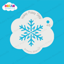 Picture of Sparkly Snowflake - Dream Stencil - 46
