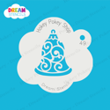 Picture of Bell Ornament - Dream Stencil - 49