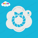 Picture of Christmas Wreath - Dream Stencil - 66