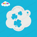 Picture of Cascading Three-Leaf Clovers  - Dream Stencil - 97