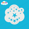 Picture of Assorted Stars- Dream Stencil - 122