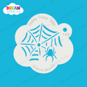 Picture of Crawling Spider With Web - Dream Stencil - 193