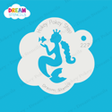 Picture of Mermaid Princess - Dream Stencil - 227