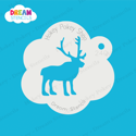 Picture of Reindeer - Dream Stencil - 240