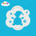 Picture of Jolly Snowman - Dream Stencil - 252