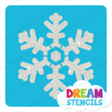Picture of Festive Snowflake Glitter Tattoo Stencil - HP-244 (5pc pack)