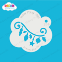Picture of Hanging Ornaments - Dream Stencil - 261