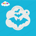 Picture of Cascading Bats - Dream Stencil - 274