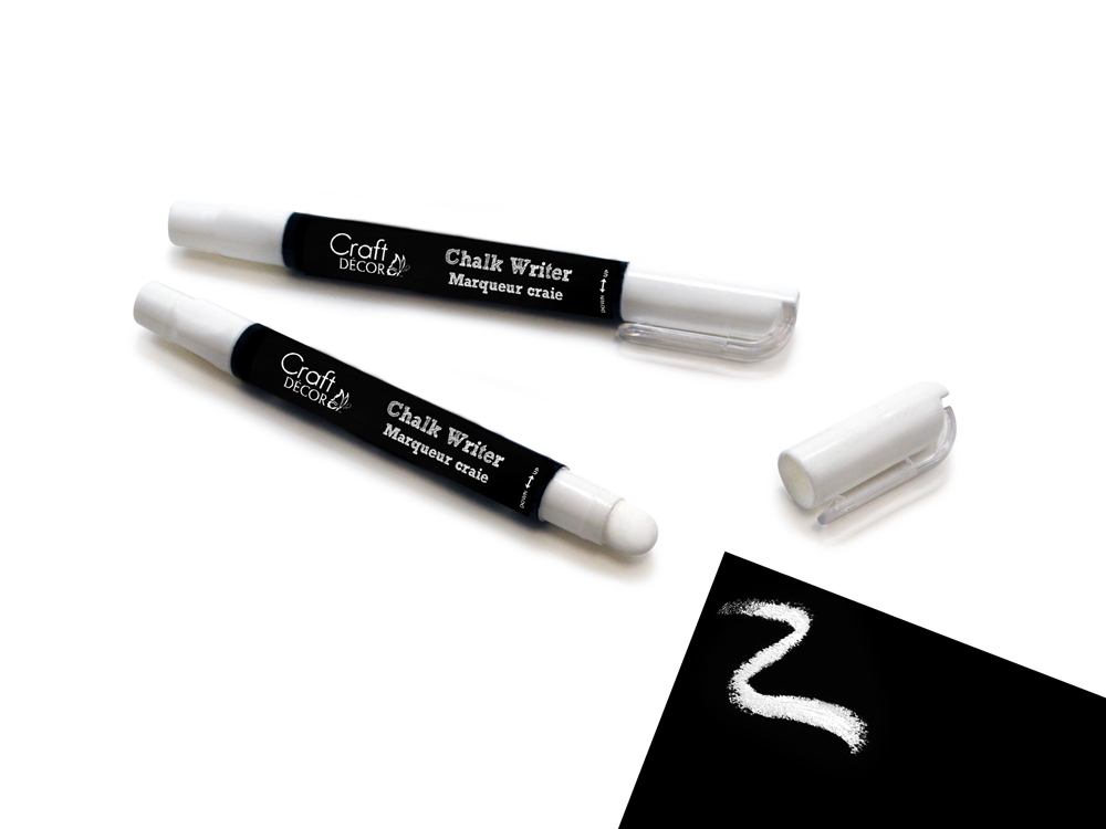 Picture of Craft Decor  Chalk Writer - White (2pk)